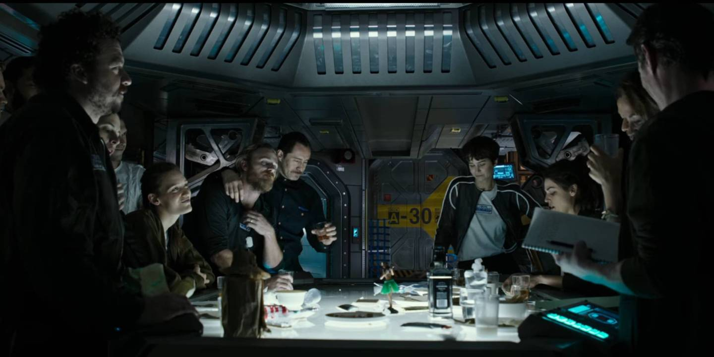 alien covenant last supper review preview