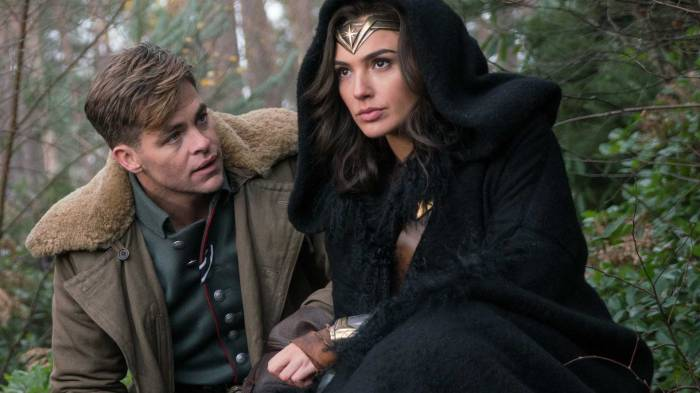 wonder woman dc review 2017 chris pine gal gadot